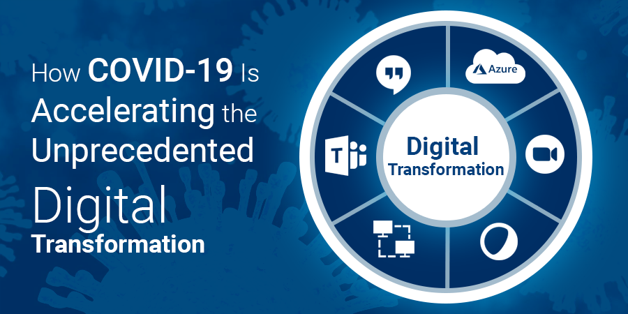 How COVID-19 Is Accelerating the Unprecedented Digital Transformation