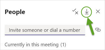 online meetings with Teams